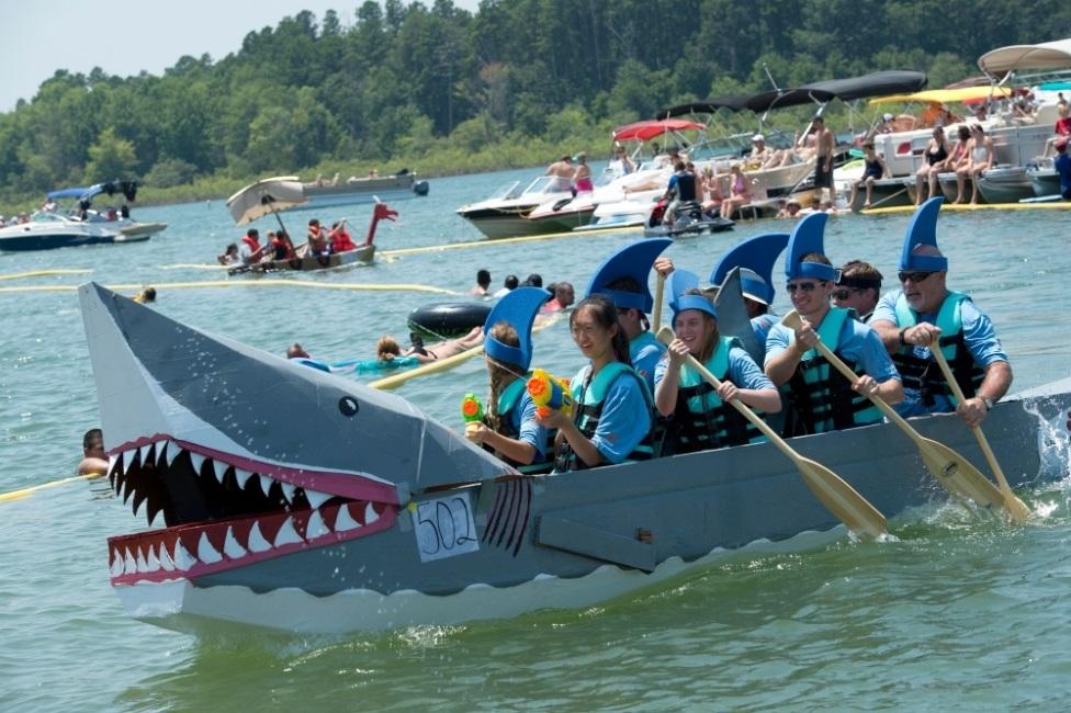 Cardboard Boat Race Crazy-Boat-5-1